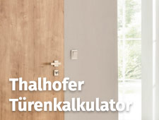 Thalhofer Online Shop Icon - Türenkalkulator | Burger Holzzentrum, Bäumenheim