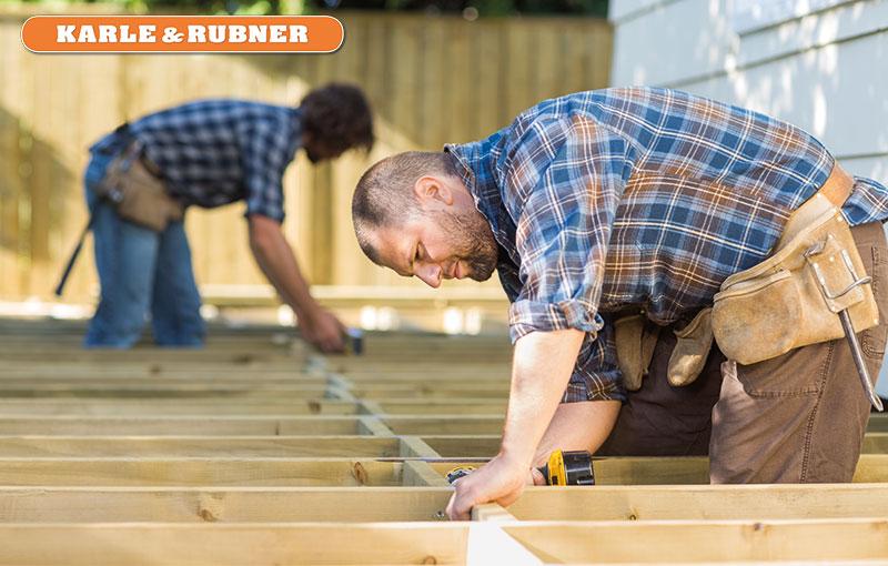 Karle & Rubner - Verlegung von Terrassendielen